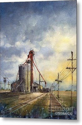 Ropes Grain Metal Print