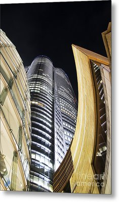 Roppongi Hills Mori Tower Metal Print by Bill Brennan - Printscapes