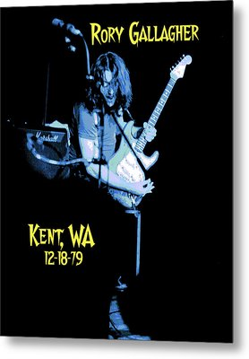 Metal Print featuring the photograph Rory Kent Blues by Ben Upham