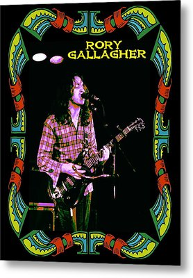 Rory Messin' With The Kid 2 Metal Print by Ben Upham