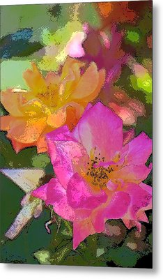 Rose 114 Metal Print by Pamela Cooper