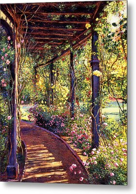 Rose Arbor Toluca Lake Metal Print