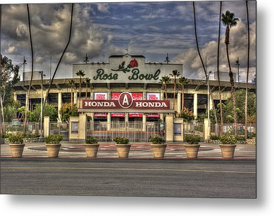 Rose Bowl Hdr Metal Print