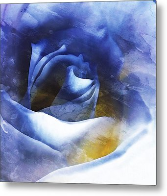 Metal Print featuring the photograph Rose - Daydreams - Dreamscape by Janine Riley