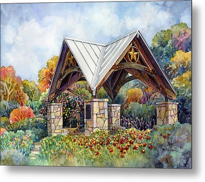 Rose Garden Metal Print by Hailey E Herrera