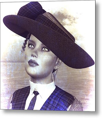 Rose Metal Print by Methune Hively
