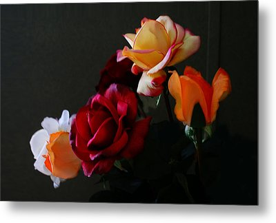 Roses Are Forever 1 Metal Print by J Cheyenne Howell