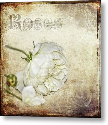 Metal Print featuring the photograph Roses by Carolyn Marshall