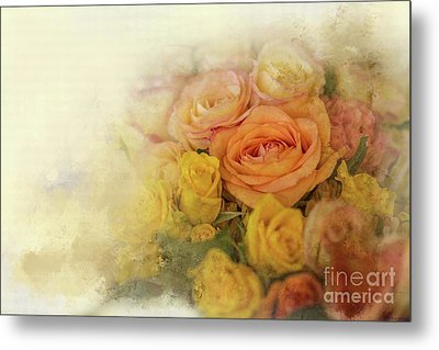 Roses For Mother's Day Metal Print by Eva Lechner