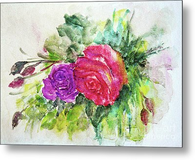 Roses For You Metal Print by Jasna Dragun