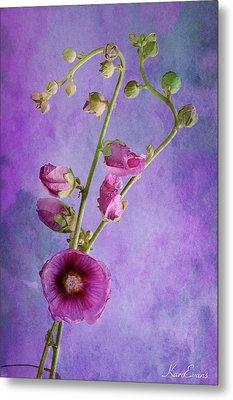 Roses  Metal Print by Karo Evans