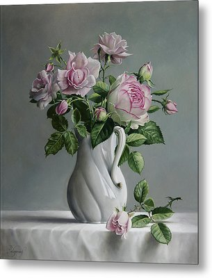Roses Metal Print by Pieter Wagemans