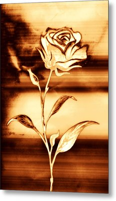 Rosewood Metal Print by Dolly Mohr
