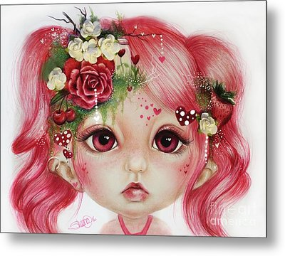 Rosie Valentine - Munchkinz Collection  Metal Print by Sheena Pike