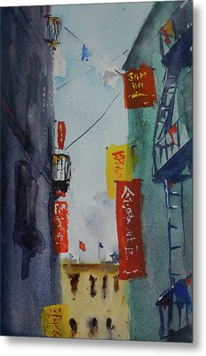 Ross Alley6 Metal Print