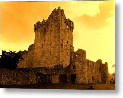 Ross Castle Metal Print by Aidan Moran