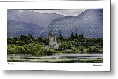 Metal Print featuring the photograph Ross Castle by R Thomas Berner