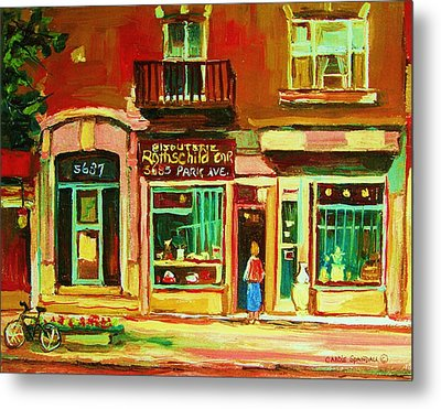 Rothchilds Jewellers On Park Avenue Metal Print by Carole Spandau
