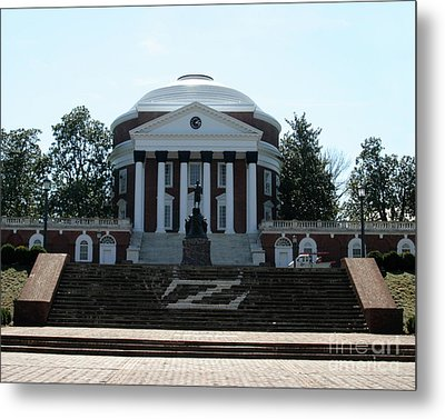 Rotunda   University Of  Virginia Metal Print