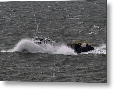 Rough Water Metal Print by Bill Perry