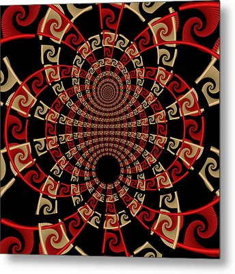 Roulette Sunset Metal Print by David April