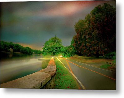 Metal Print featuring the photograph Round The Bend by Diana Angstadt