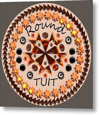 Round Tuit Metal Print