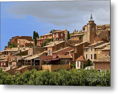 Rousillon Metal Print by Stan and Anne Foster