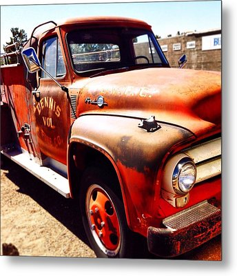 Route 66 Metal Print by Mark David Gerson