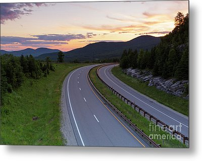 Route 93 - Franconia Notch State Park New Hampshire Metal Print by Erin Paul Donovan