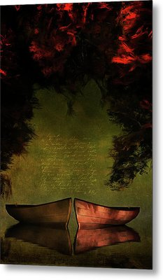 Row Boats Metal Print
