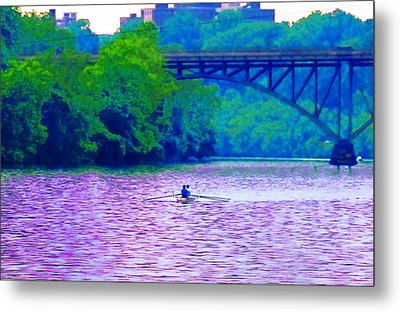 Row Row Row Your Boat Metal Print by Bill Cannon