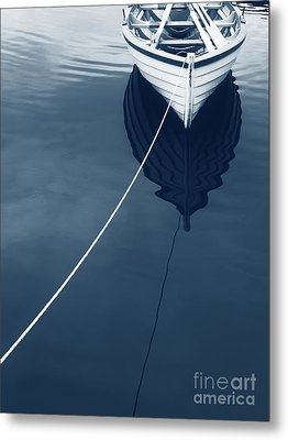 Row Row Row Your Boat Life Is But A Dream Metal Print