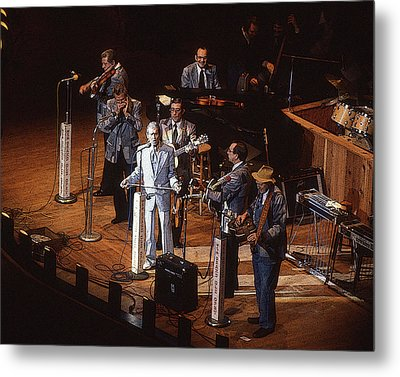 Roy Acuff At The Grand Ole Opry Metal Print by Jim Mathis