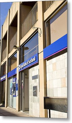 Royal Bank Of Scotland Metal Print by Tom Gowanlock