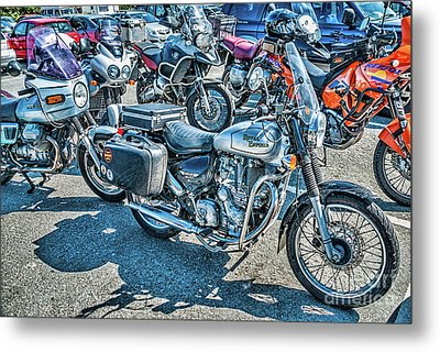 Royal Enfield Bullet Electra X Metal Print by Steve Purnell