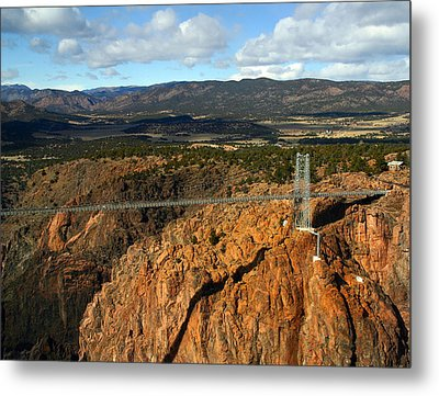 Royal Gorge Metal Print by Anthony Jones