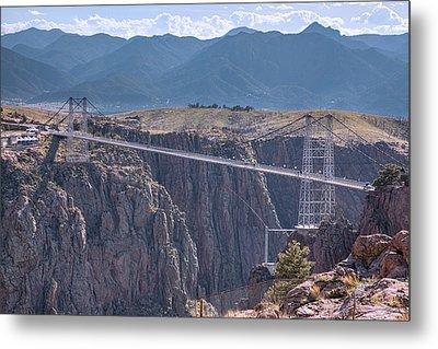 Royal Gorge Bridge Colorado Metal Print by James BO Insogna