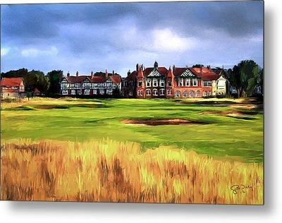 Royal Lytham St. Annes Golf Club Metal Print