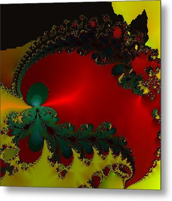 Royal Red Metal Print