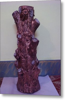 Royale Tree Metal Print by Hakimuddin Pathan