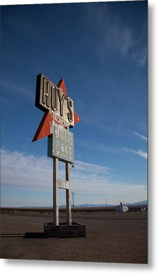 Metal Print featuring the photograph Roys In Amboy by Matthew Bamberg