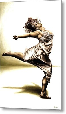 Rubinesque Dancer Metal Print by Richard Young