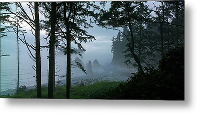 Ruby Beach II Washington State Metal Print