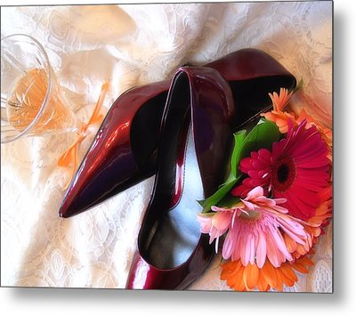 Ruby Slippers Metal Print
