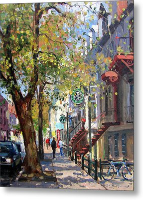 Rue St Denis Montreal Metal Print by Roelof Rossouw