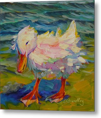 Ruffled Feathers Metal Print by Chris Brandley