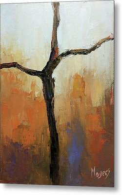 Rugged Cross Metal Print by Mike Moyers