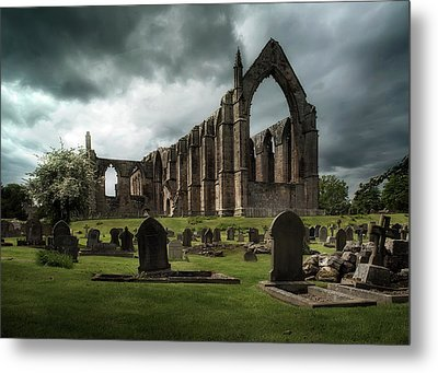 Ruins Of Bolton Abbey Metal Print by Jaroslaw Blaminsky