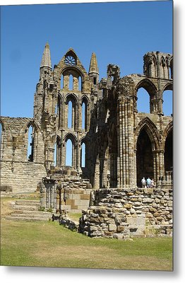Ruins Of Whitby Abbey Metal Print